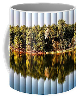 When Nature Reflects - The Slat Collection Coffee Mug