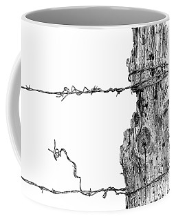 Post With Character Coffee Mug by Bill Kesler