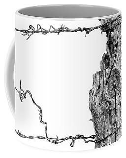 Post With Character Coffee Mug