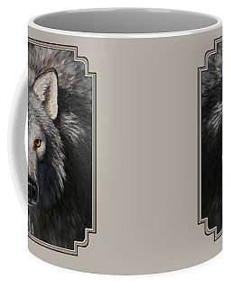 Wolf Portrait Coffee Mug