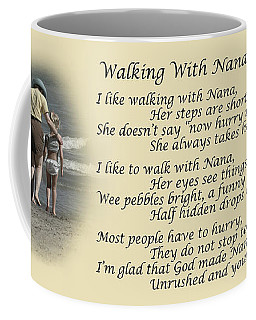 Walking With Nana Coffee Mug