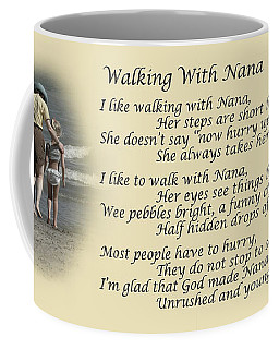 Walking With Nana Coffee Mug by Dale Kincaid