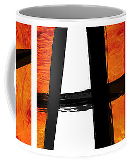 Coffee Mug featuring the painting Edge by Paul Davenport