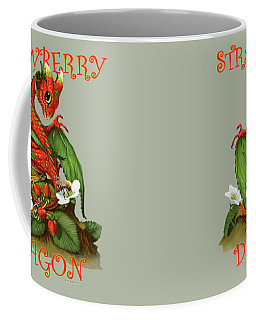 Strawberry Dragon Coffee Mug