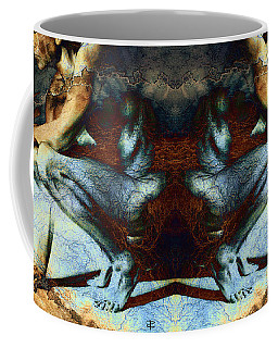 Resting With Texture Square Coffee Mug