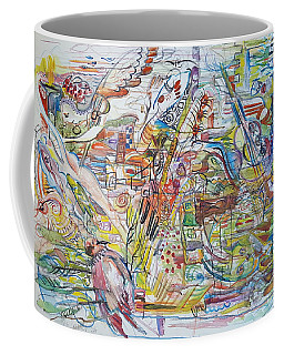 Love And Music Coffee Mug by Rita Fetisov