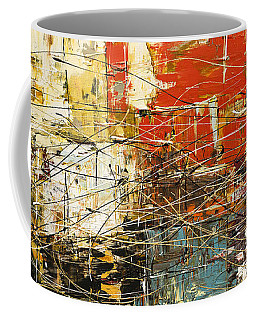 Coffee Mug featuring the painting Artylicious by Carmen Guedez