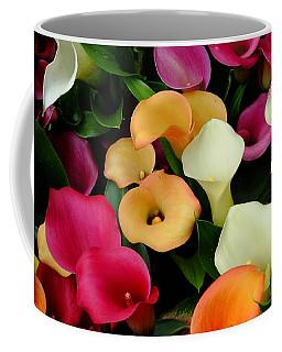 Arum Lilies Coffee Mug