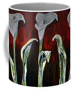 Arum Lillies Coffee Mug