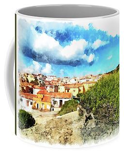 Arzachena Landscape With Clouds Coffee Mug