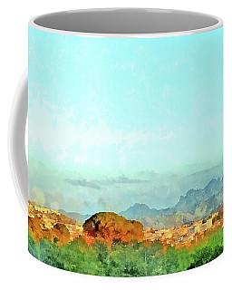 Arzachena Landscape With Mountains Coffee Mug