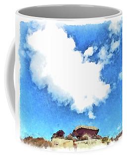 Arzachena Mushroom Rock With Cloud Coffee Mug