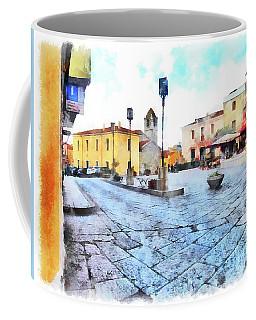 Arzachena Risorgimento Square Coffee Mug