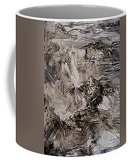 Coffee Mug featuring the painting As Far As I Could See by Nancy Kane Chapman