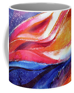 Coffee Mug featuring the painting As I Bloom by Kathy Braud
