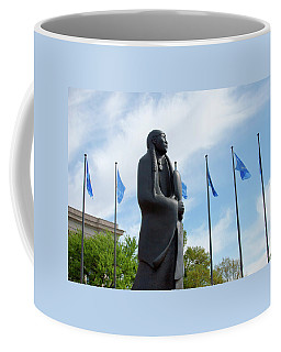 As Long As The Waters Flow Sculpture Coffee Mug
