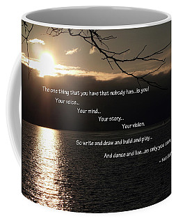 Coffee Mug featuring the photograph As Only You Can by Jordan Blackstone