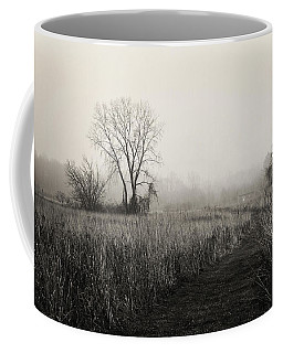 Coffee Mug featuring the photograph As The Fog Rolls In by Shawna Rowe