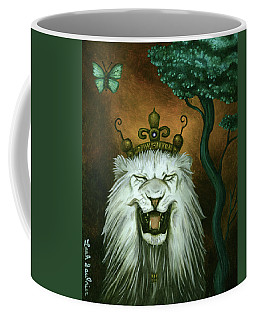 As The Lion Laughs Coffee Mug