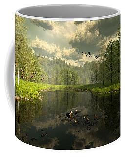As The River Flows Coffee Mug