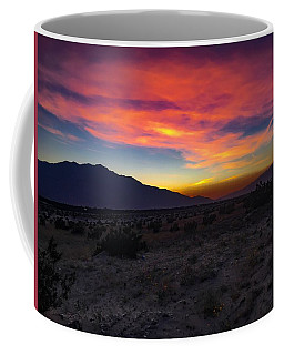 Coffee Mug featuring the photograph As The Sun Sets by Chris Tarpening