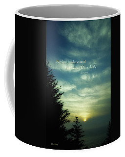 As The Sun Sets In The West Coffee Mug