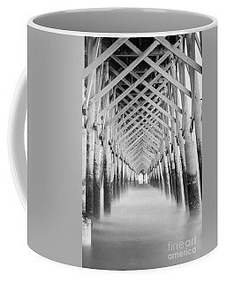 As The Water Fades Grayscale Coffee Mug