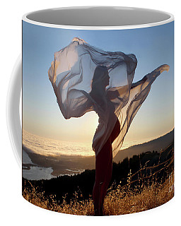 As The Wind Carries The Flower Of A New Life Coffee Mug