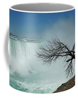 As Winter Leaves Niagara 2 Coffee Mug