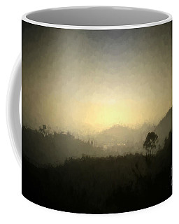 Ascend The Hill Of The Lord - Digital Paint Effect Coffee Mug