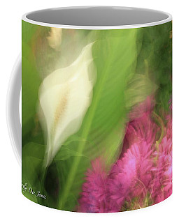 Ascend To Peace Coffee Mug by Cathy Dee Janes