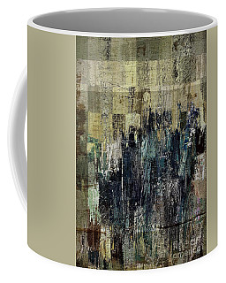 Coffee Mug featuring the painting Ascension - C03xt-159at2c by Variance Collections