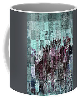 Coffee Mug featuring the digital art Ascension - C03xt-161at2c by Variance Collections