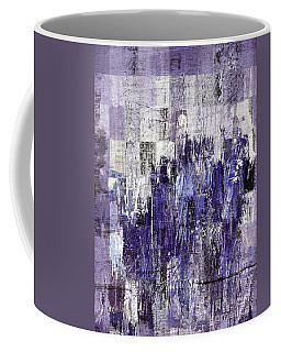 Coffee Mug featuring the painting Ascension - C03xt-166at2c by Variance Collections