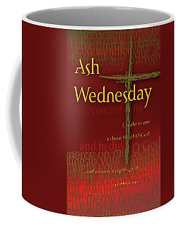 Ash Wednesday Coffee Mug