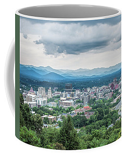 Coffee Mug featuring the photograph Asheville Afternoon Cropped by Jemmy Archer