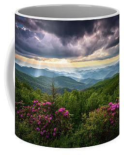 Asheville Nc Blue Ridge Parkway Scenic Landscape Photography Coffee Mug