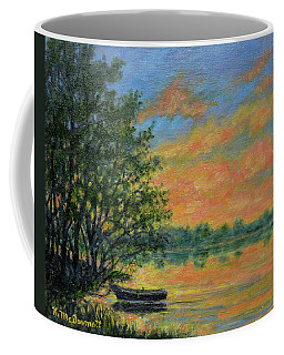 Ashore At Dusk 2 Coffee Mug
