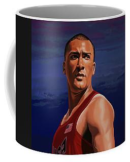 Ashton Eaton Painting Coffee Mug