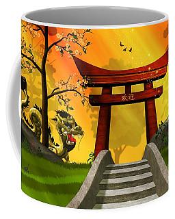 Asian Art Chinese Landscape  Coffee Mug by John Wills