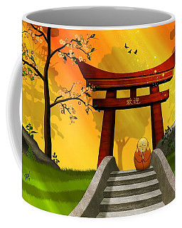 Asian Art Chinese Spring Coffee Mug by John Wills