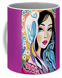 Asian Bird Coffee Mug