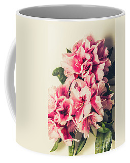 Asian Floral Rhododendron Flowers Coffee Mug