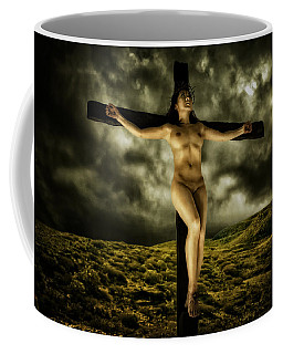 Asian Jesus Crucifix V Coffee Mug