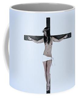 Asian Jesus On Cross Coffee Mug