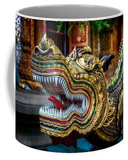 Asian Temple Dragon Coffee Mug