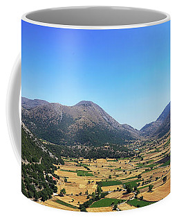 Askifou Plateau Panorama Coffee Mug