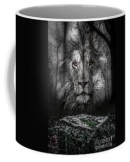 Aslan And The Stone Table Coffee Mug
