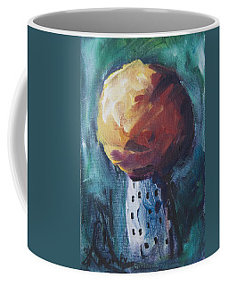 Coffee Mug featuring the painting Aspen Bolitas Mushroom by Yulia Kazansky