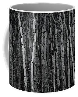 Coffee Mug featuring the photograph Aspen Forest by Brad Allen Fine Art